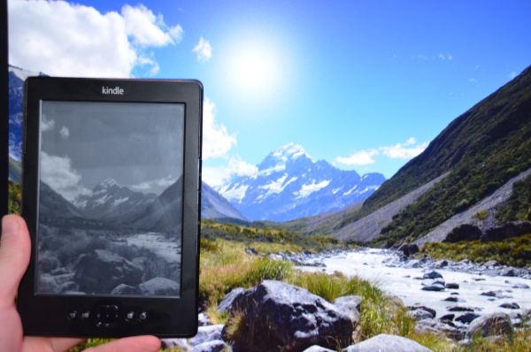 Das Kindle mit eigenem Screensaver